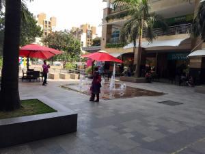 At Viviana Mall, where we shopped today.