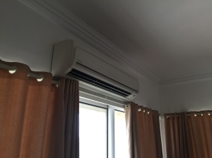 The AC unit in my room